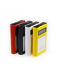 bateria externa de ji 10000mAh banco de potência LCD multi-saída para iphone6 / samsung Nota4 / Sony / HTC e outros dispositivos móveis