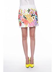 Women's Casual Floral Skirt Short Skirts Juniors Skirts Tennis High Waisted Work