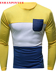 2015 T Shirts  Man Long sleeve T-shirt leisure
