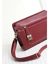 Handcee® Fashion and Simple Design Woman PU Cross Body Bag