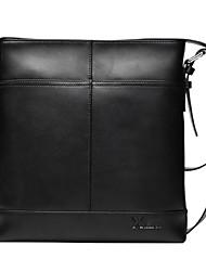 x.bnj nueva moda de alta calidad de cuero partido para los hombres maletines de diseño únicos bolso del negocio de mensajería originales