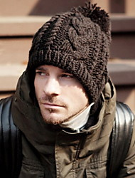 Unisex Fashion Twist Keep Warm Knitted Cap