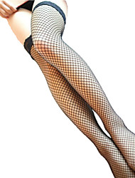Women's Sexy Mesh Hollow Thin Fishnet Stockings