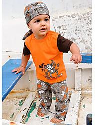 Camiseta/Pantalones/Conjunto de Ropa Boy - Verano - Algodón - Manga Corta