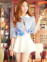Pink Doll®Women's Casual Bow Two Piece Skater Suits