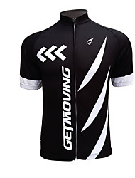 Getmoving Classic Personality Outdoor Riding Suit + Clothes + Short Black Sweat Cycling Wear