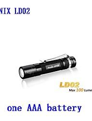 Lampes Torches LED - Camping/Randonnée/Spéléologie/Usage quotidien/De travail ( Etanche/Clip/Urgence ) LED 3 Mode 100 Lumens AAACree XP-E