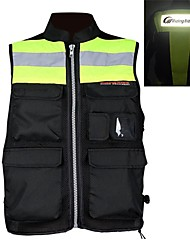 RIDING-TRIBE Motorcycle Riding Nocturnal Reflective Vest Racing Fluorescent Safety Clothing