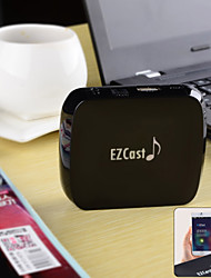 EZCast M7 Wi-Fi Audio Music Streamer Receiver Support Qplay, DLAN, AirPlay, EZ Cast - Black