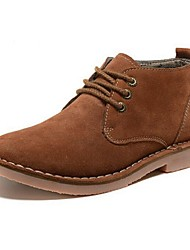 Men's Shoes Casual Suede Boots Blue/Brown/Gray