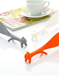 Set of 3 Kitchen Corn Squirrel Non Stick Standing Rice Paddle Scoop Spoon (Random Color)