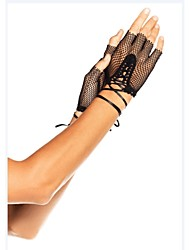 Punk Stlye Personality of Ribbon Wedding/Party Glove