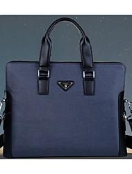 dos homens da lona formais / casual / escritório&carreira / professioanl usa sacos de ombro / totes - azul / marrom