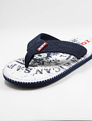 Men's Shoes Casual Slippers White