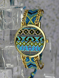 Bohemian Style Women's Vintage Watches Gyrosigma Pattern Hand-Woven Watches Students Watch Cool Watches Unique Watches
