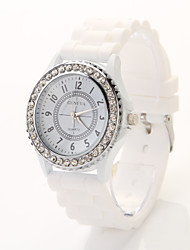 T.watch Women's/men's Steel Band Analog Quartz Casual Watch