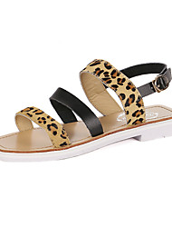 Women's Shoes Flat Heel Mary   Sandals Outdoor/Casual Black/White