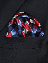 Cravate & Foulard Travail / Décontracté Rayonne,Homme A Carreaux