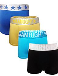 Men's Cotton/ Blends/Modal Boxers 4 pack Briefs