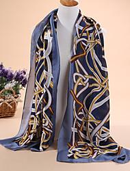 Hot selling new Ms fashion satin long scarf shawl