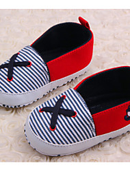 Baby Shoes Casual Canvas Loafers Blue/Red