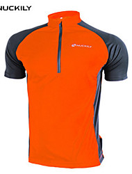 NUCKILY® Maillot de Cyclisme Femme Unisexe Manches courtes VéloEtanche Respirable Séchage rapide Perméabilité à l'humidité Totalement
