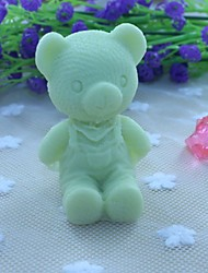 Bear Shape Soap Mold  Fondant Cake Chocolate Silicone Mold, Decoration Tools Bakeware