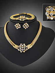 NZMD Women's Vintage High Quality Rhinestone Necklace Suit More Colors
