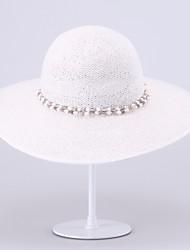 Women's Men's Basketwork Headpiece-Casual Outdoor Hats 1 Piece