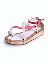 Girls' Shoes Dress / Casual Slingback / Comfort / Open Toe Sandals Black / Burgundy