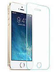 hzbyc® anti-arañazos ultra-delgada pantalla de vidrio templado protector para el iphone 5 / 5s / 5c / SE