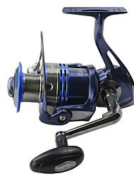 Spinning German Technology Fishing Reel 10 Balls Bearing + 1 Roller Bearing SSV1000 Royal Blue Fish Reels