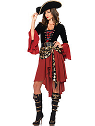 Cosplay Costumes/Party Costumes Cool/Retro Halloween Female Pirate Costumes