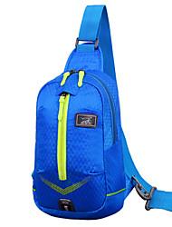 Men 's Nylon Sports/Outdoor Shoulder Bag/Sports & Leisure Bag - Purple/Blue/Green/Red/Black