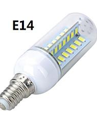 10W E14 / E26/E27 Bombillas LED de Mazorca T 56 SMD 5730 800-900 lm Blanco Cálido / Blanco Fresco AC 100-240 V