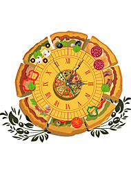 PAG®Morden 3D Effect Pizza Wall Clock 18.9*15.7 inch / 48*40 cm