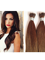 "18""-30"" Cheap Hair Nano Ring Hair Extension1g/strand 100g/lot All Color Can Be Done Keratin Hair Extension"