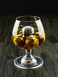 Alle blau (10 Stück) hochwertige Mode-Ideen importierten Whisky neue rautenförmigen Edelstahl gefrorene Eiswürfel für bar