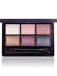 Color Box 6 Colors Golden Dazzling Eye Shadow 14g