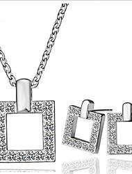 Alliage/Faux Diamant Vintage/Mignon/Soirée/Travail/Informel pour Femme