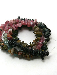 Beadia 38Cm/Str Natural Tourmaline Beads 5-8mm Irregular Shape Sonte Loose Beads DIY Accessories
