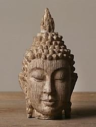 полистоуна мирное Будда голову украшения