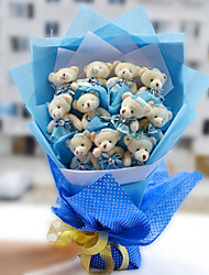 Teddy Bear Bouquet Valentine's Day Gift Wedding Bouquet