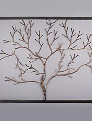 e-FOYER de décoration murale d'art de mur en métal, la litière motif de décoration murale un pcs