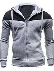 Masculino Sets activewear Casual Algodão Manga Comprida Masculino