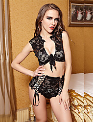 Black Lace Young Girl Sexy  Lingerie Female Underwear