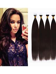Extension de cheveux brésilien 1pc / lot peau pu extension de cheveux de trame 2,5 g / pc, 40pcs / pack 100g bande droite en extension de