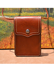 2015 Original Handmade Leather  Mini Phone Bag for Women Retro Style Shoulder  Bag  Free ShippingXB6-22-002