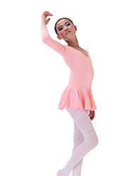 BHL Cheap Wholesale Kid Girl Ballet Uniform Dress Tutu Gymnastics Performance Show Skirt Dress For SZ 3~16Y