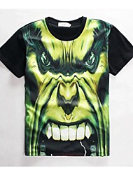 Women's High Quality Creative Funny Summer Breathable 3D Style T-Shirt——The Green Monster